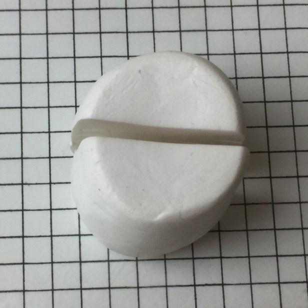 Letter G polymer clay alphabet cane - step4