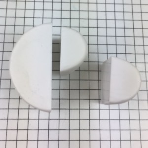 Letter P polymer clay alphabet cane tutorial - arrange clay
