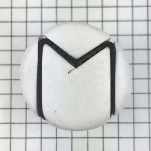 Letter M - antepenultimate step - KayVincent