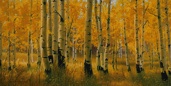 """""""Blessings"""" © K Witherspoon, 18"""" x 36"""", oil on linen (SOLD), Awarded Best in Oils & Acrylics, canvas giclée prints"""