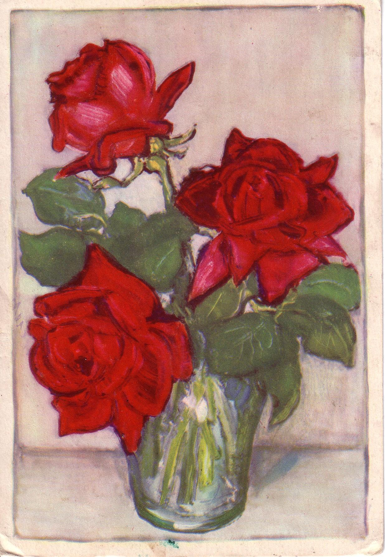 three roses again