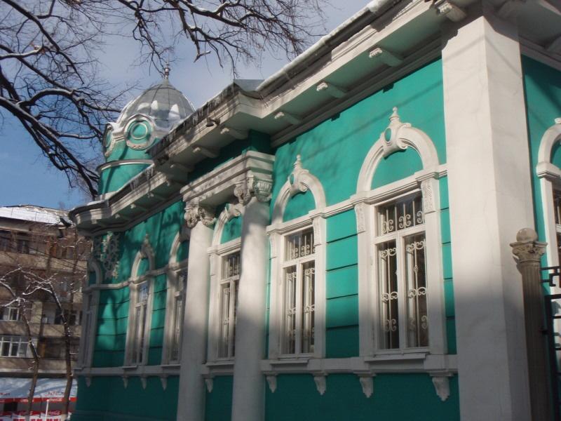 green Russian house