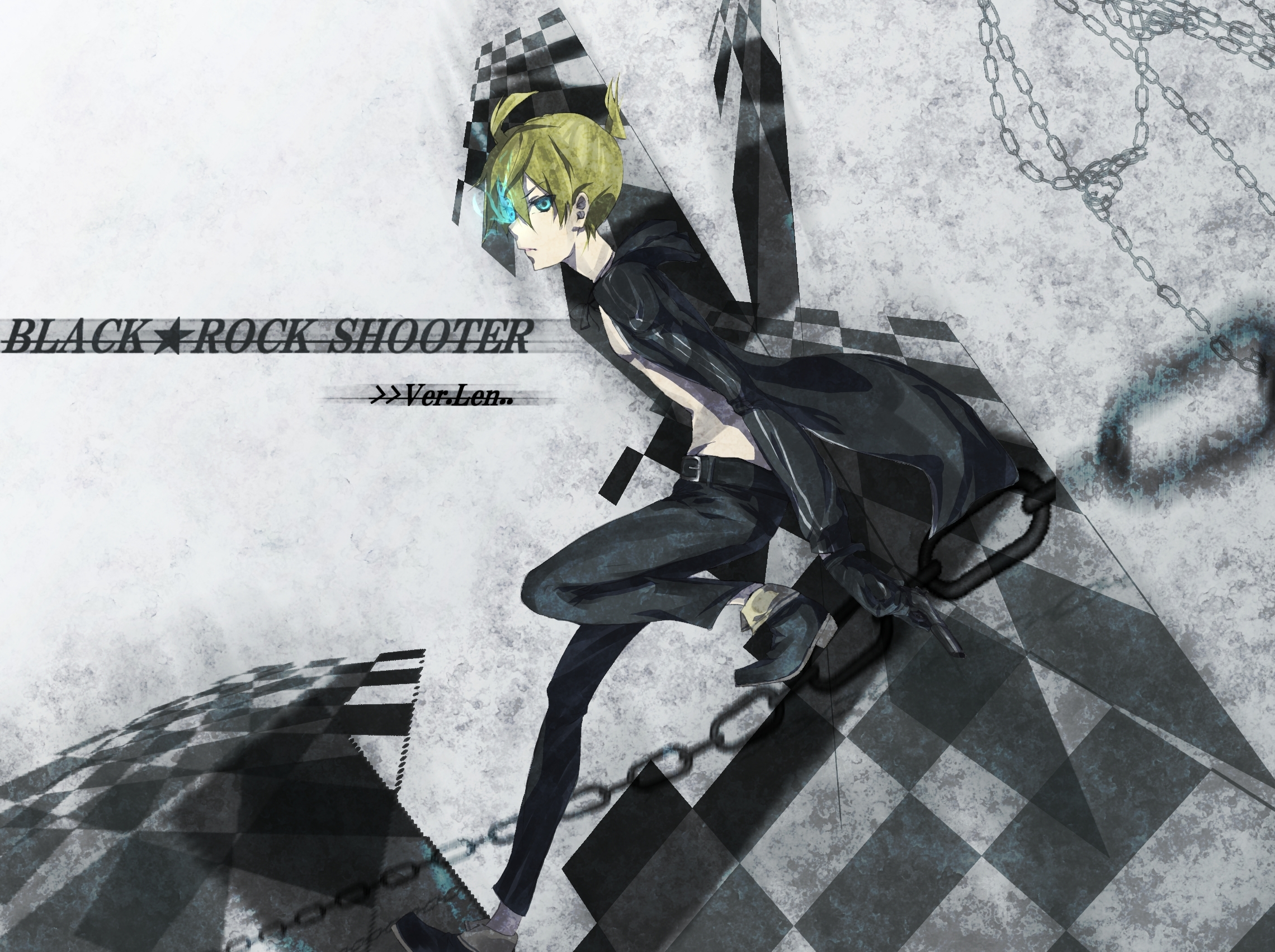 Neko Jacket Anime Wallpaper Girl Black Rock Shooter Wallpapers Pack 16 04 12