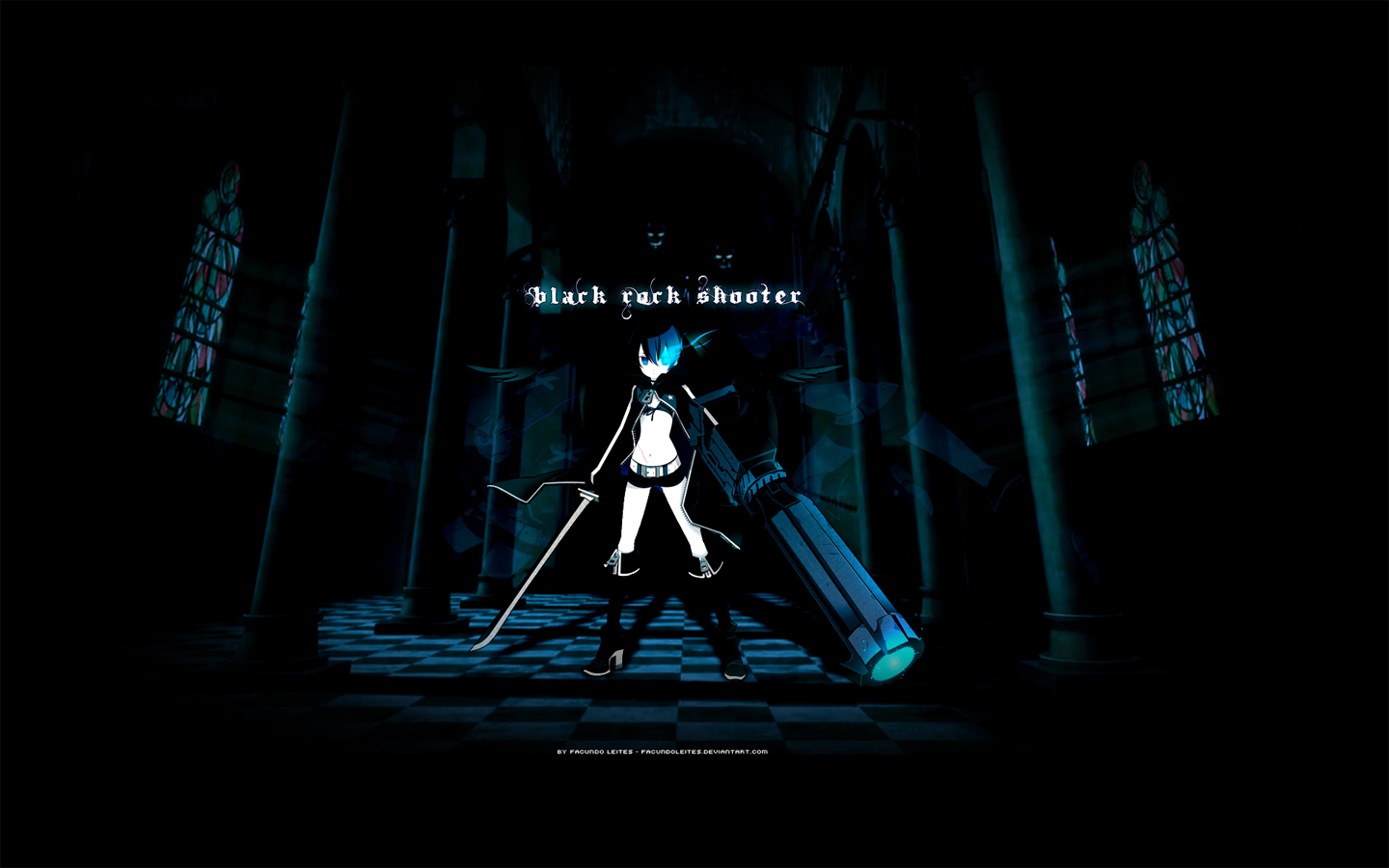 So Cute Girl Hd Wallpaper Black Rock Shooter Wallpapers Pack 16 04 12