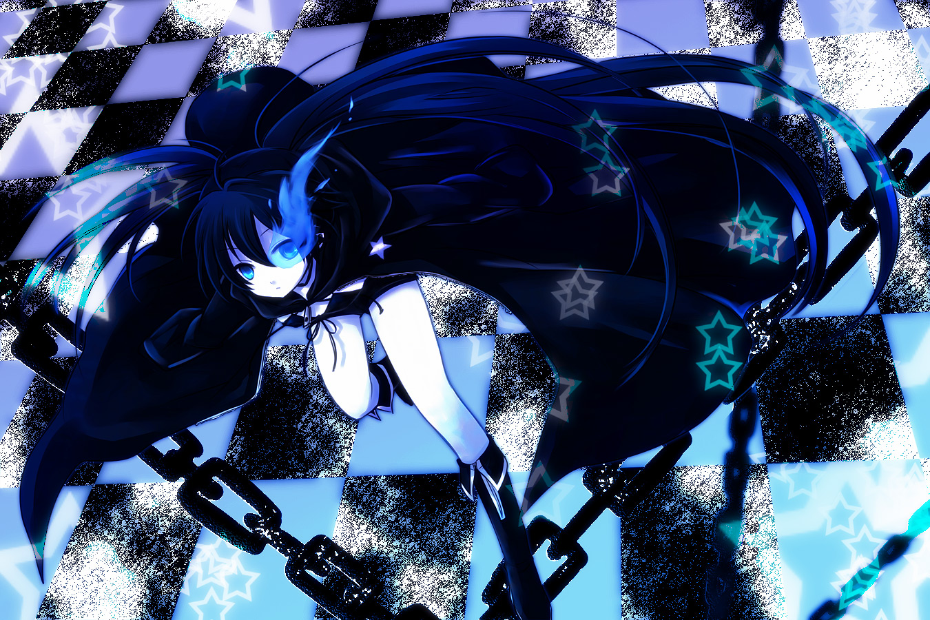 Cute Anime Girl Gun Wallpaper Black Rock Shooter Wallpapers Pack 16 04 12