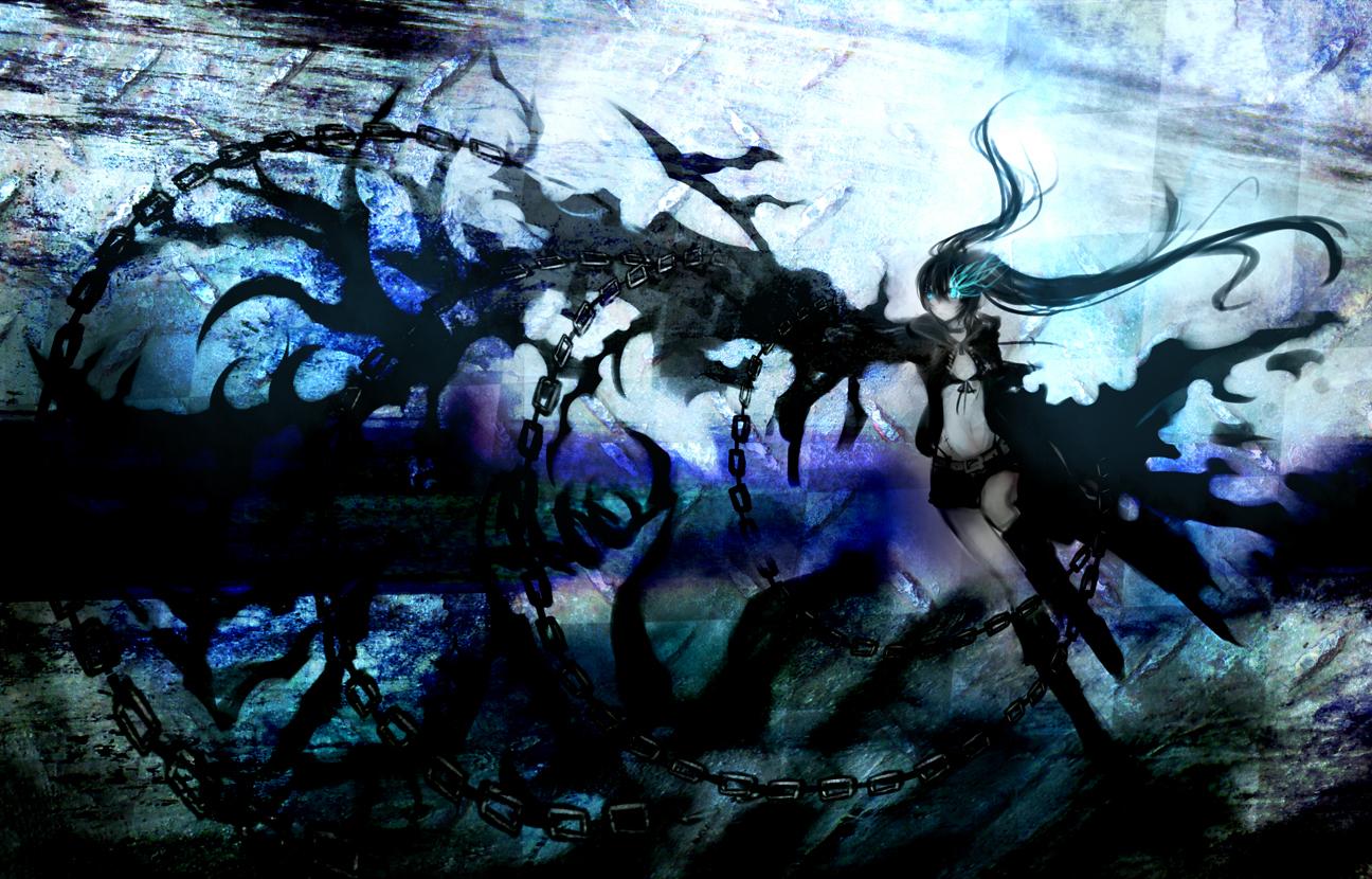 Neko Girl Live Wallpaper Black Rock Shooter Wallpapers Pack 16 04 12