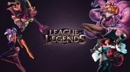 Konachan.com - 191600 ahri_(league_of_legends) animal_ears league_of_legends lulu miss_fortune photoshop riven_(league_of_legends)