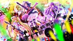 konachan-com-200590-drums-garter-glasses-group-guitar-instrument-kneehighs-long_hair-pink_eyes-seifuku-skirt-swordsouls-tail-tie-twintails