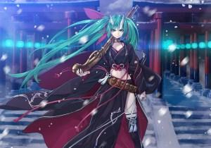 konachan-com-232852-aqua_eyes-aqua_hair-building-clouds-gun-hatsune_miku-horns-long_hair-sky-thighhighs-torii-twintails-vocaloid-weapon-yahako