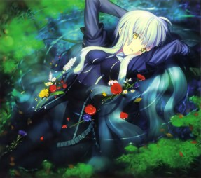 yande.re 306637 fate_hollow_ataraxia fate_stay_night karen_ortensia takeuchi_takashi type-moon wet