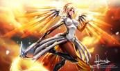 Konachan.com - 225921 mercy_(overwatch) overwatch tagme_(artist)