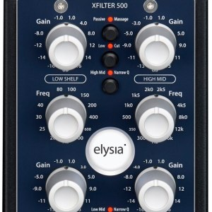 Elysia XFilter Stereo EQ 500-Series Module