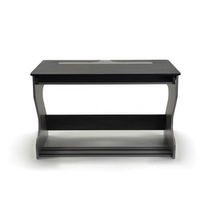Zaor Miza Jr Compact Studio Desk Grey/Wengé