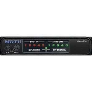 MOTU Micro Lite Professional MIDI Interface