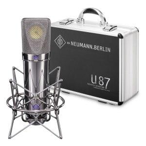 Neumann U 87 Rhodium Edition Set - Limited Edition