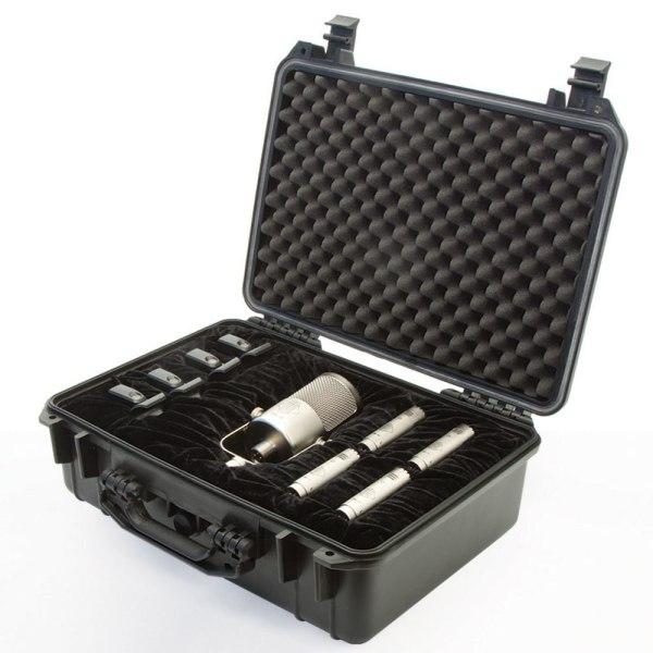 Sontronics DRUMPACK PLUS 7-piece condenser mic set for drums