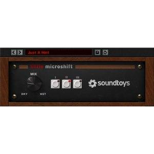 SoundToys Little MicroShift VST AU RTAS Mac/Windows Digital Download