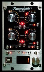 Bettermaker Digitally controller stereo EQ