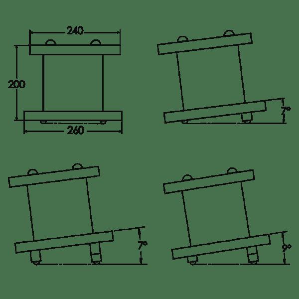 Zaor Miza D'Stand MK2 diagram