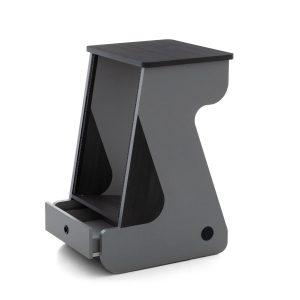 The Zaor Miza Rack MKII 16 Grey Wengé