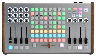 Livid Instruments OHM RGB MIDI Controller available from Kazbar Systems