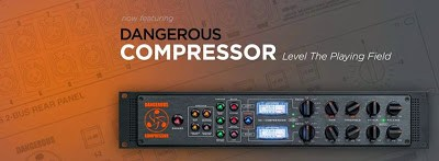 Dangerous Music Compressor available from Kazbar Systems