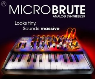 Arturia MicroBrute available from Kazbar Systems