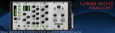 Aphex USB 500 Lunchbox Audio Interface available from Kazbar Systems