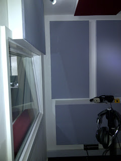 Sylvia Young Recording Studio Live Room Designand Installation from Kazbar Systems
