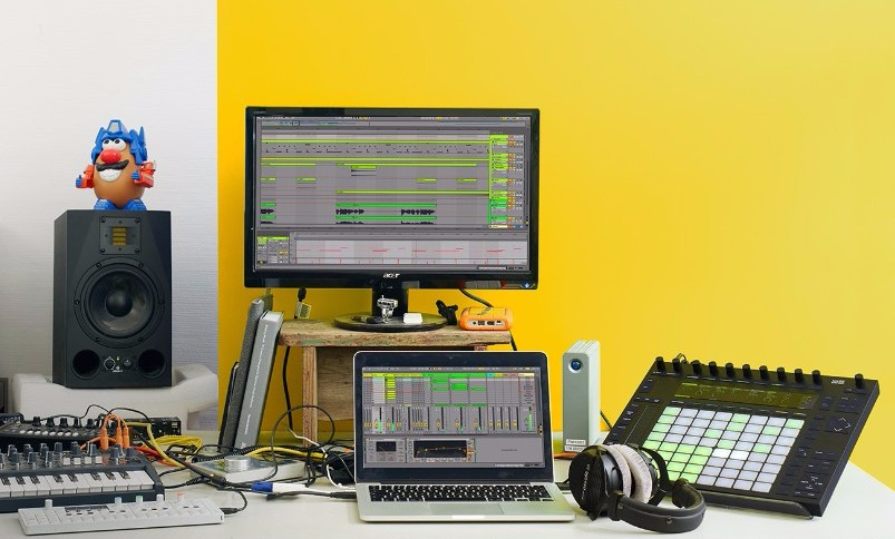 Ableton Live 9 Suite & Push 2 Bundle available from Kazbar Systems