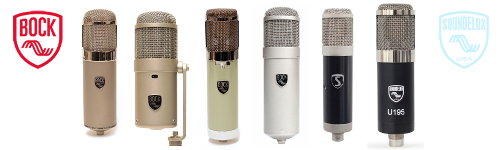 Bock Audio & Sound Delux Microphones available from Kazbar Systems