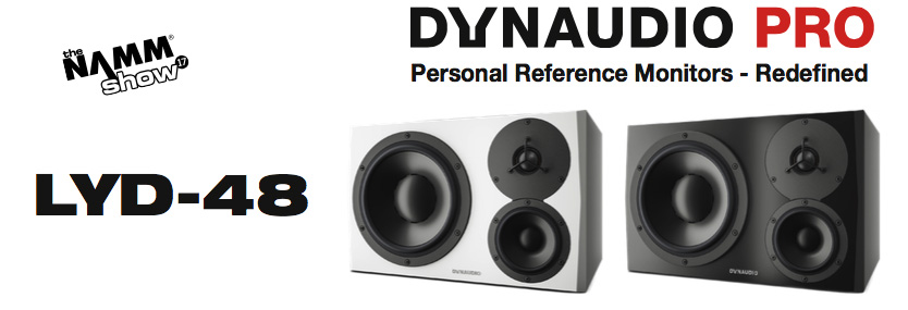 Dynaudio LYD-48 Active Monitor Speaker available from Kazbar Systems