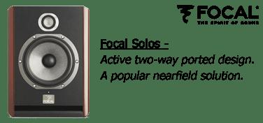 Focal Solo Studio Monitors