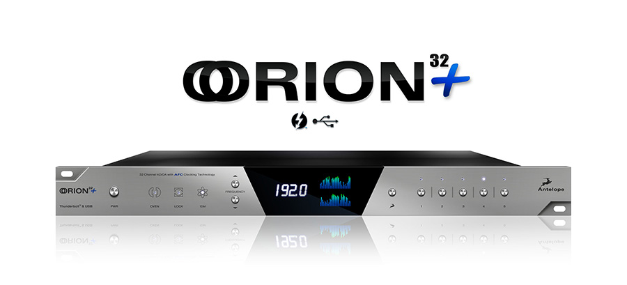 Antelope Orion 32+ Studio available from Kazbar Systems