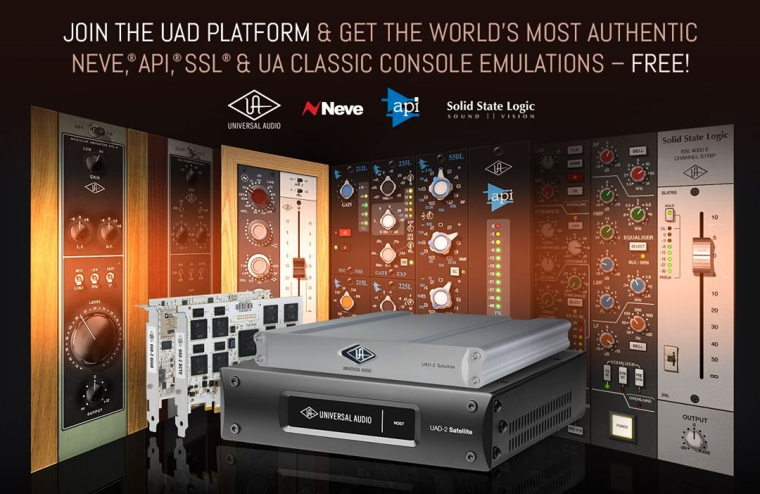 Universal Audio UAD-2 available from Kazbar Systems