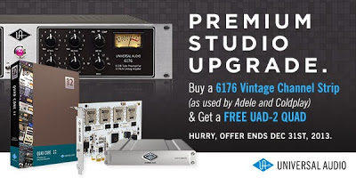 Universal Audio 6176 & UAD-2 Special Offer available from Kazbar Systems
