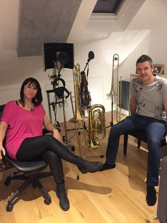 Rita Campbell & Alistair White Studio Upgrade from Kazbar Systems