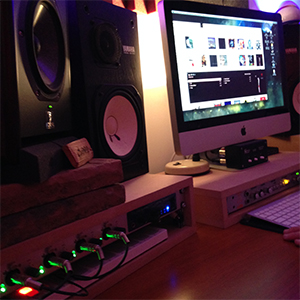 RME Fireface 802 installed in Alex Tepper's Studio