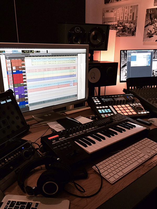 Stuart Roslyn Studio Installation Upgrade from Kazbar Systems