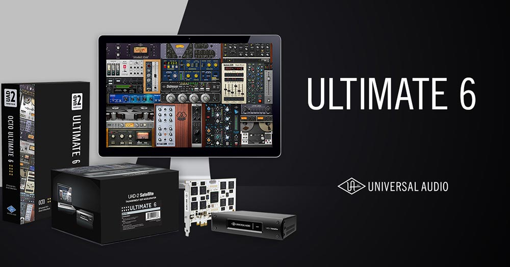 Universal Audio UAD-2 Ultimate 6 Package available from Kazbar Systems