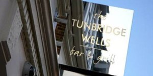 The Tunbridge Wells Bar and Grill sign