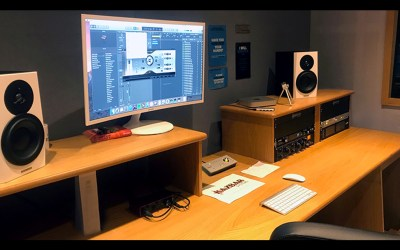 BMG Studio Installation by Kazbar Systems