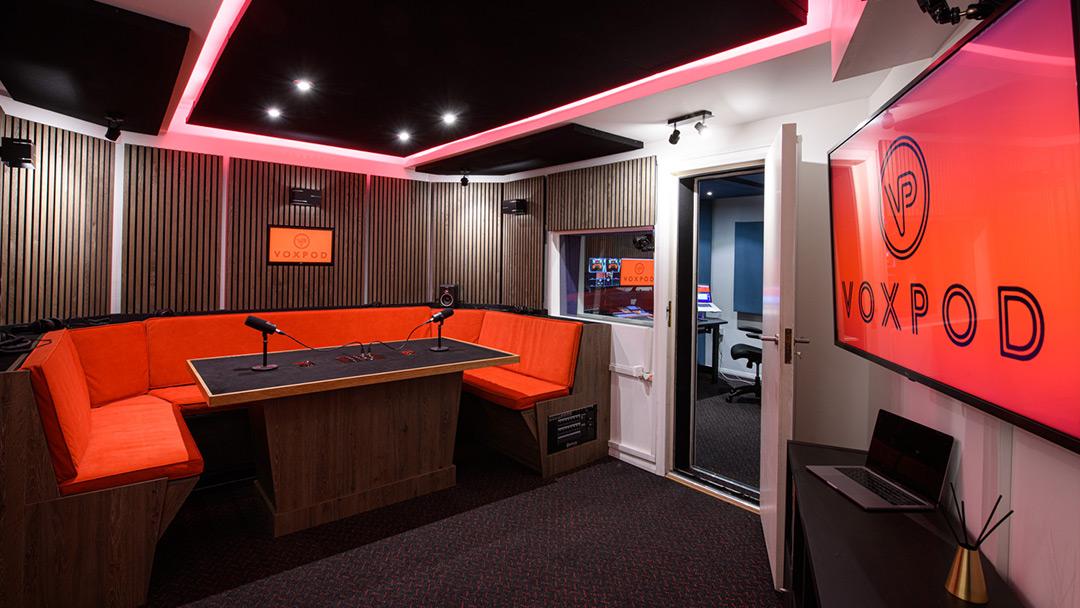 Voxpod Podcast Studio