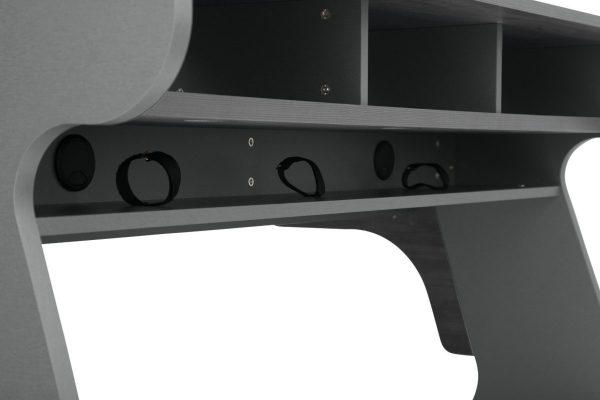 Zaor Miza 88 Flex Grey Wengé Cable tray