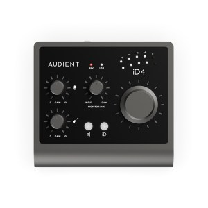 Audient iD4 (MKII) Top