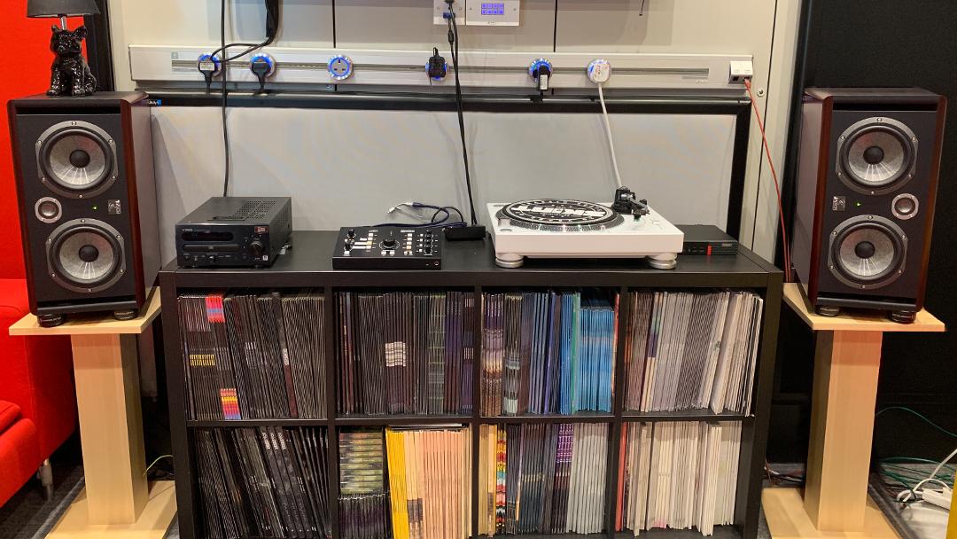 BMG Music Listening Room Installation