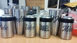 kaz bros design shop Yeti custom engraved wedding gifts