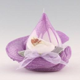 fleur de table violine