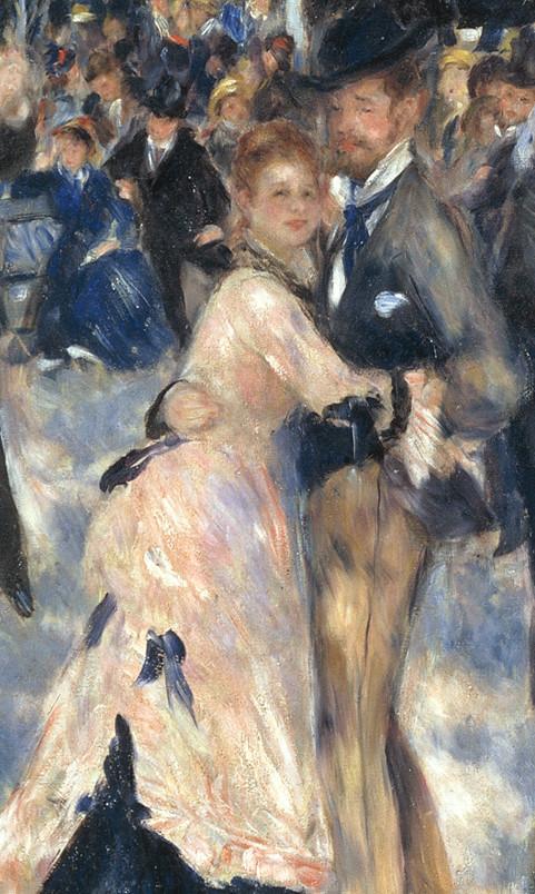 Le Bal Du Moulin De La Galette : moulin, galette, Canvassing, Masterpieces:, Moulin, Galette, Renoir, KAZoART, Contemporary
