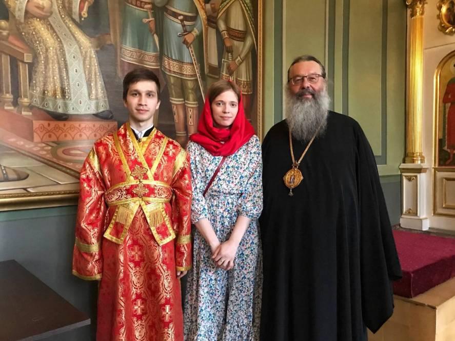 Учащиеся семинарии получили благословение на вступление в брак